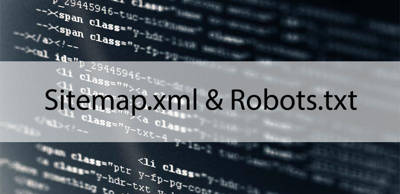 Robots.txt, sitemap.xml